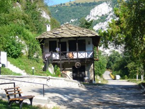 Traditionelles Haus in Bulgarien
