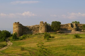 Schlossruine in Bulgarien